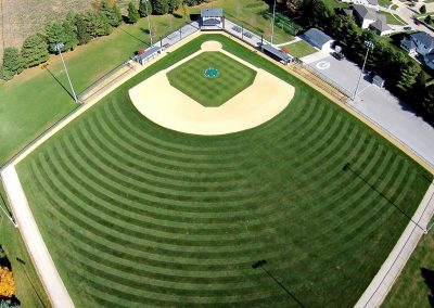 Ball Diamond in Geneseo, Illinois