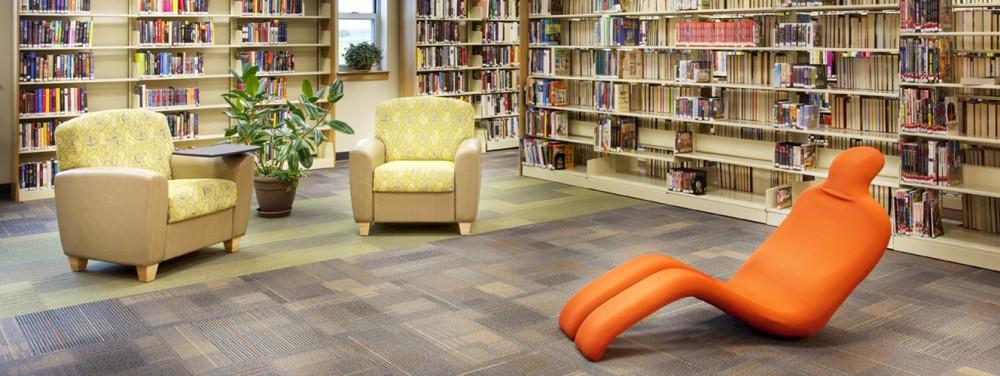Inside Geneseo Public Library