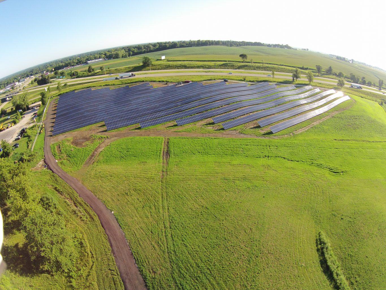 Solar Array Progress 100