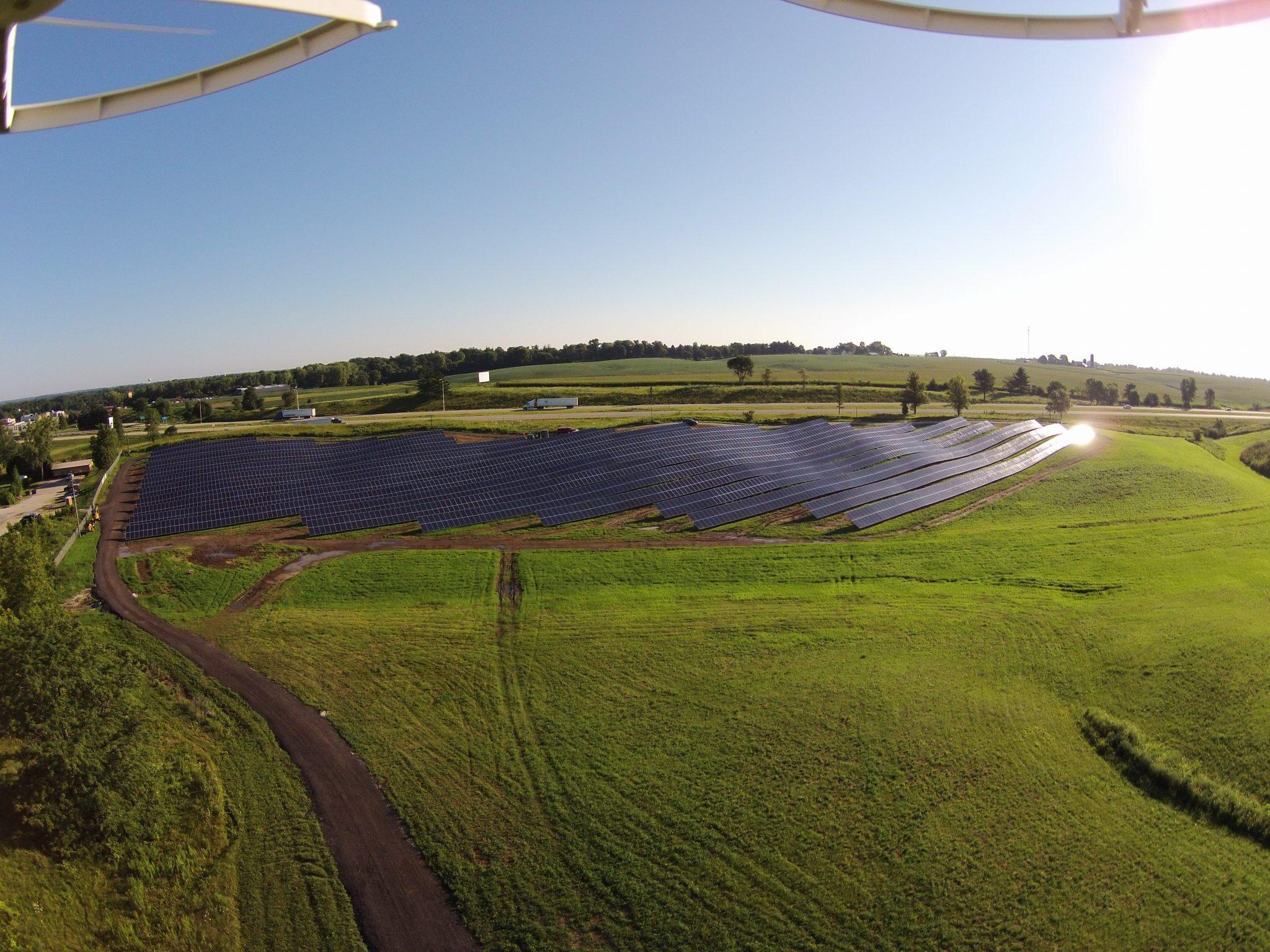 Solar Array Progress 102