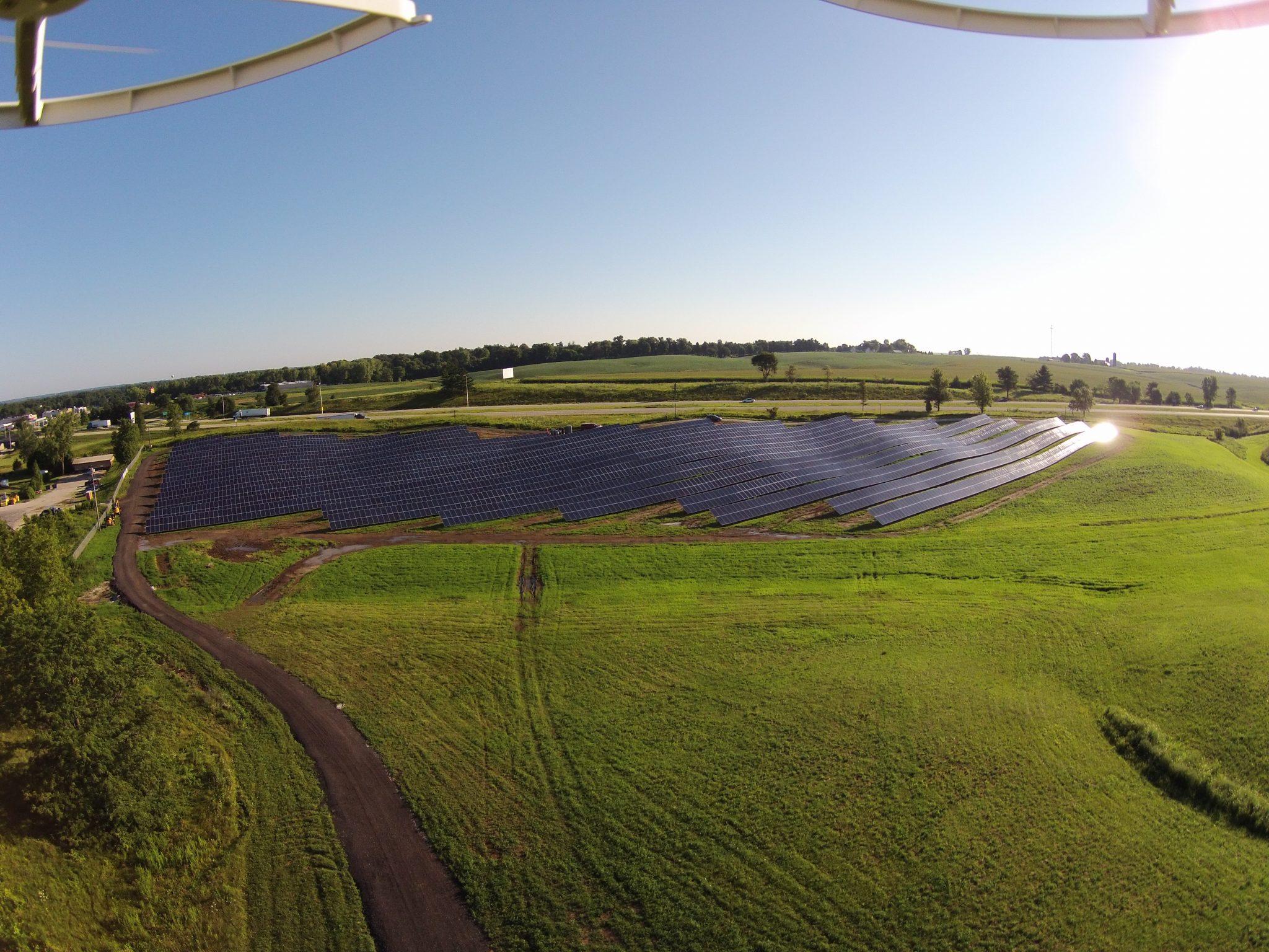 Solar Array Progress 103