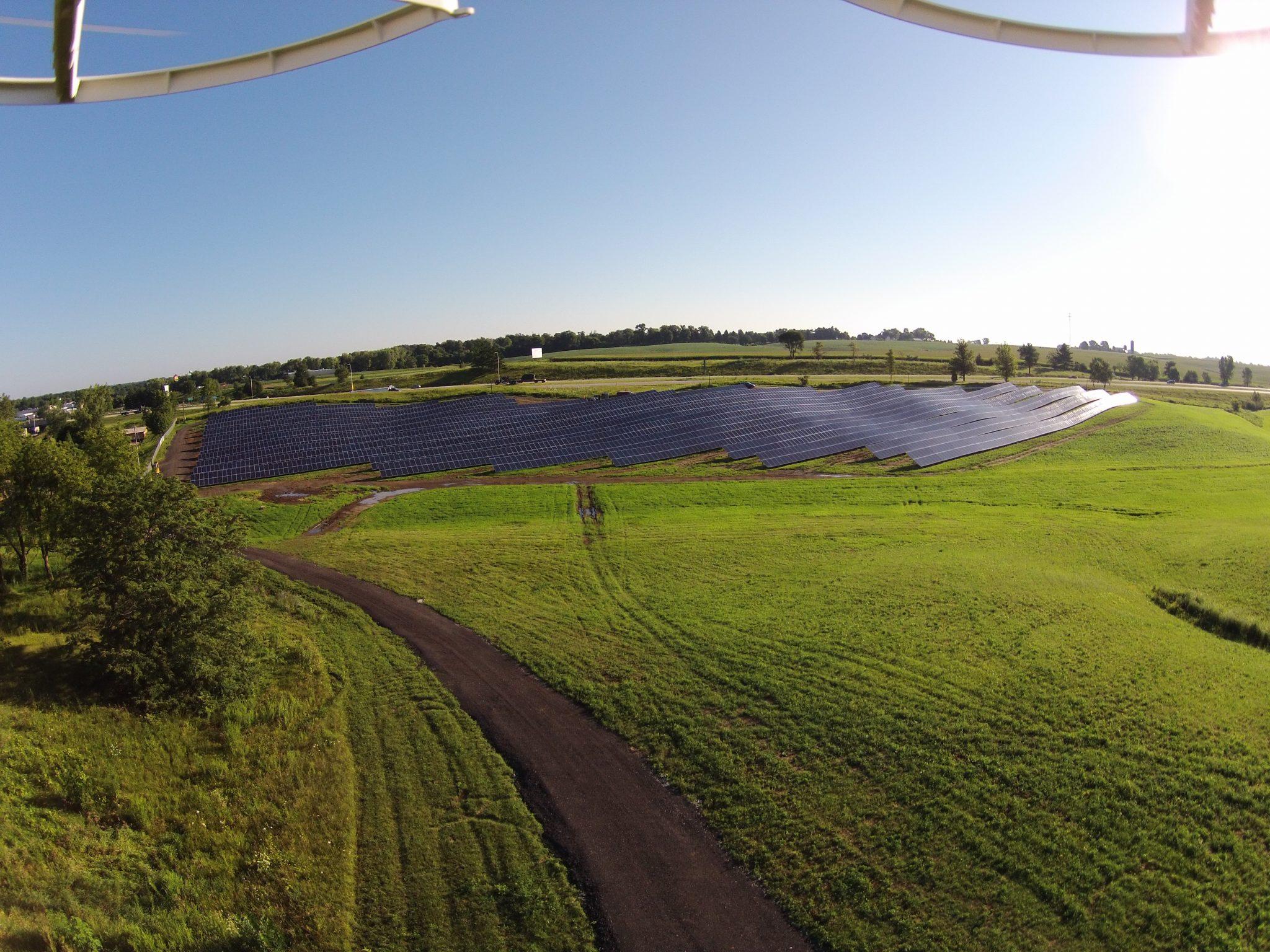 Solar Array Progress 104