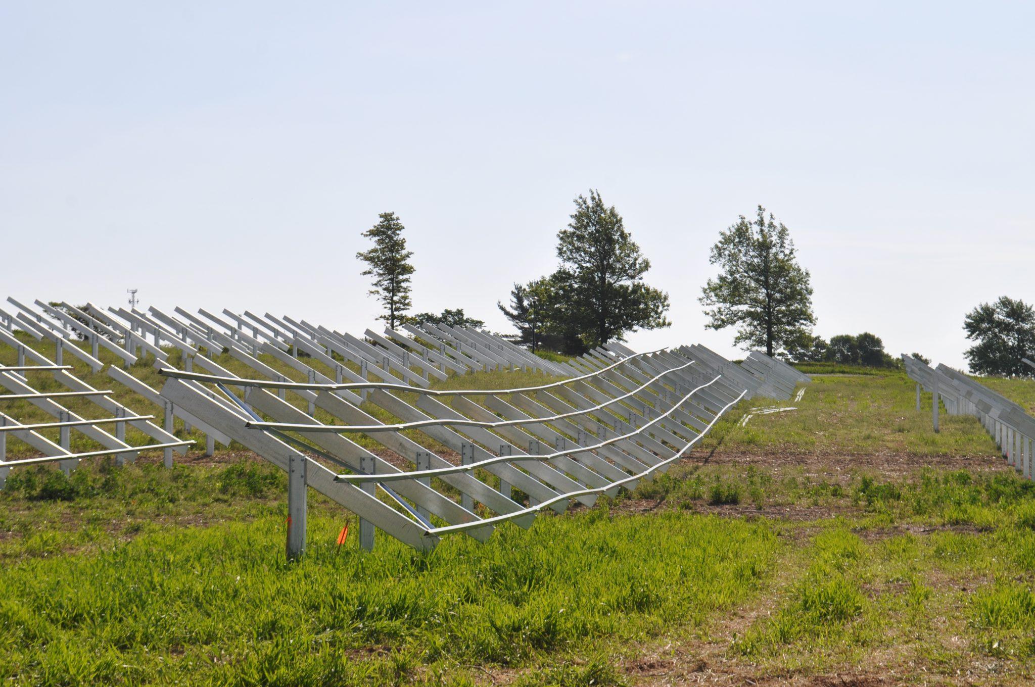 Solar Array Progress 106