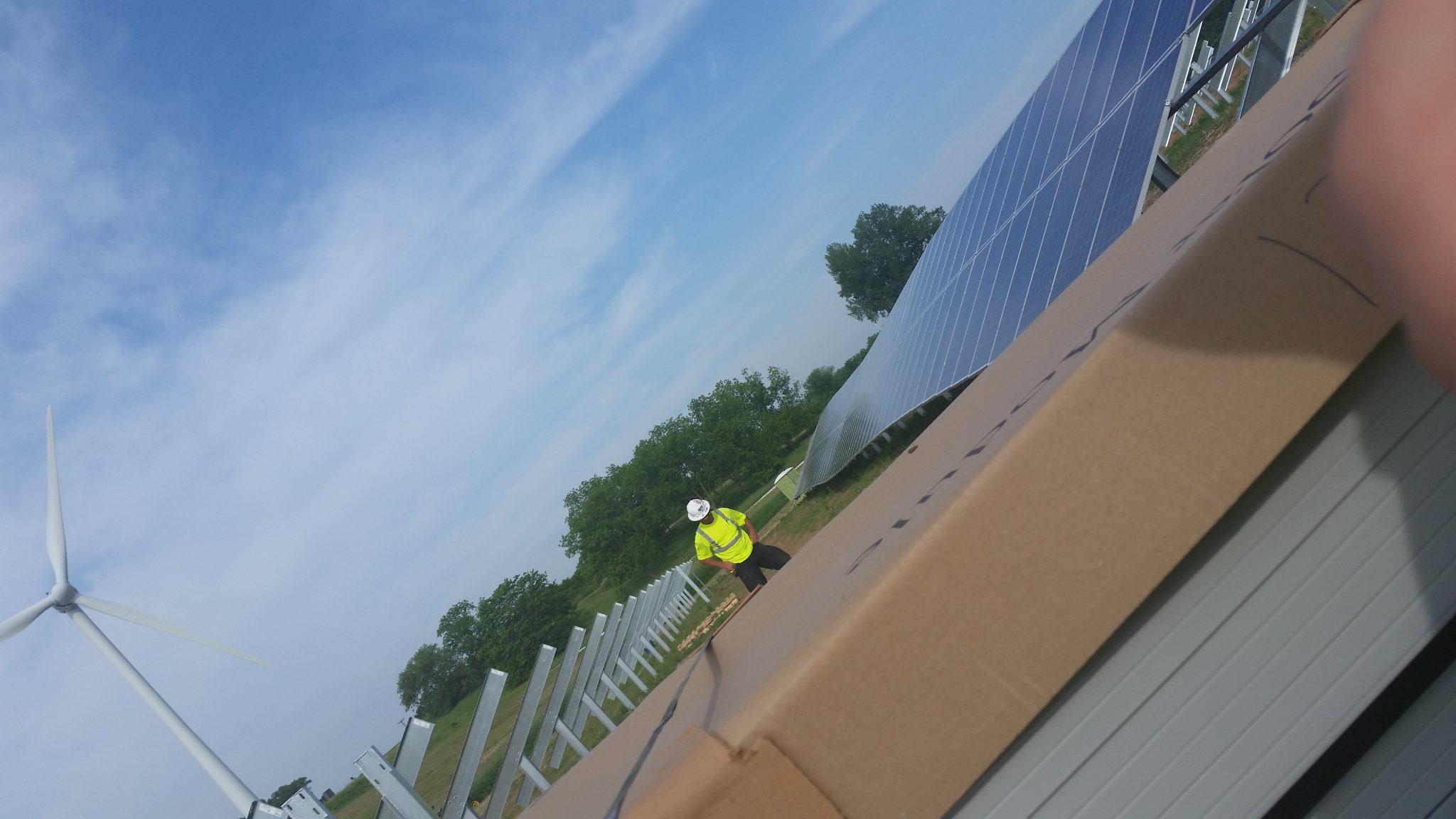 Solar Array Progress 27