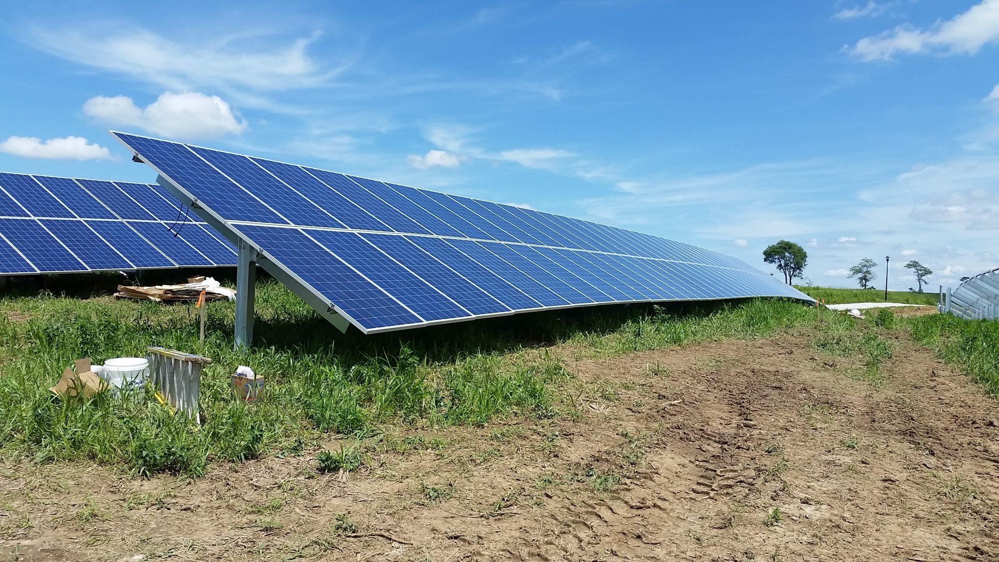 Solar Array Progress 40