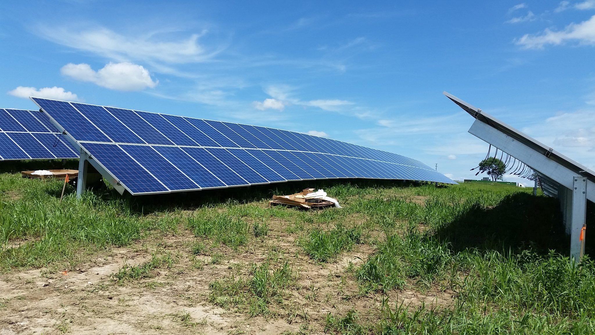 Solar Array Progress 41