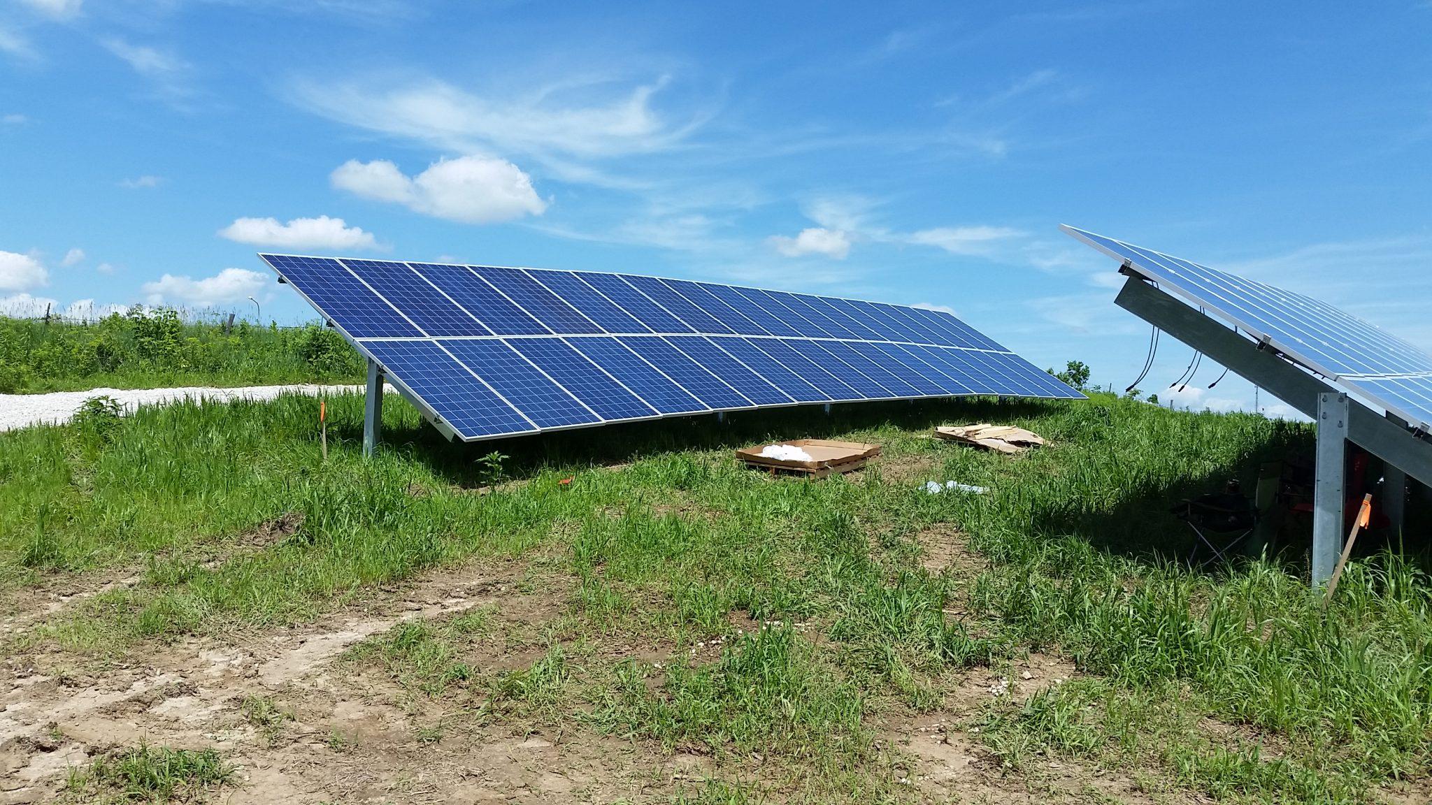 Solar Array Progress 42