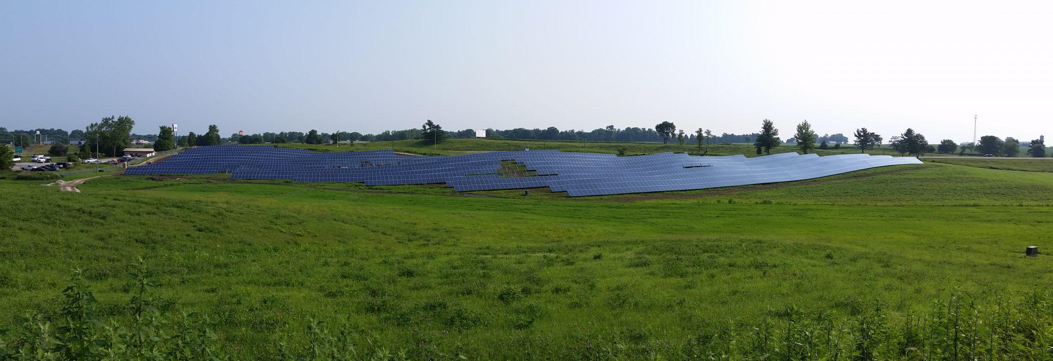 Solar Array Progress 43