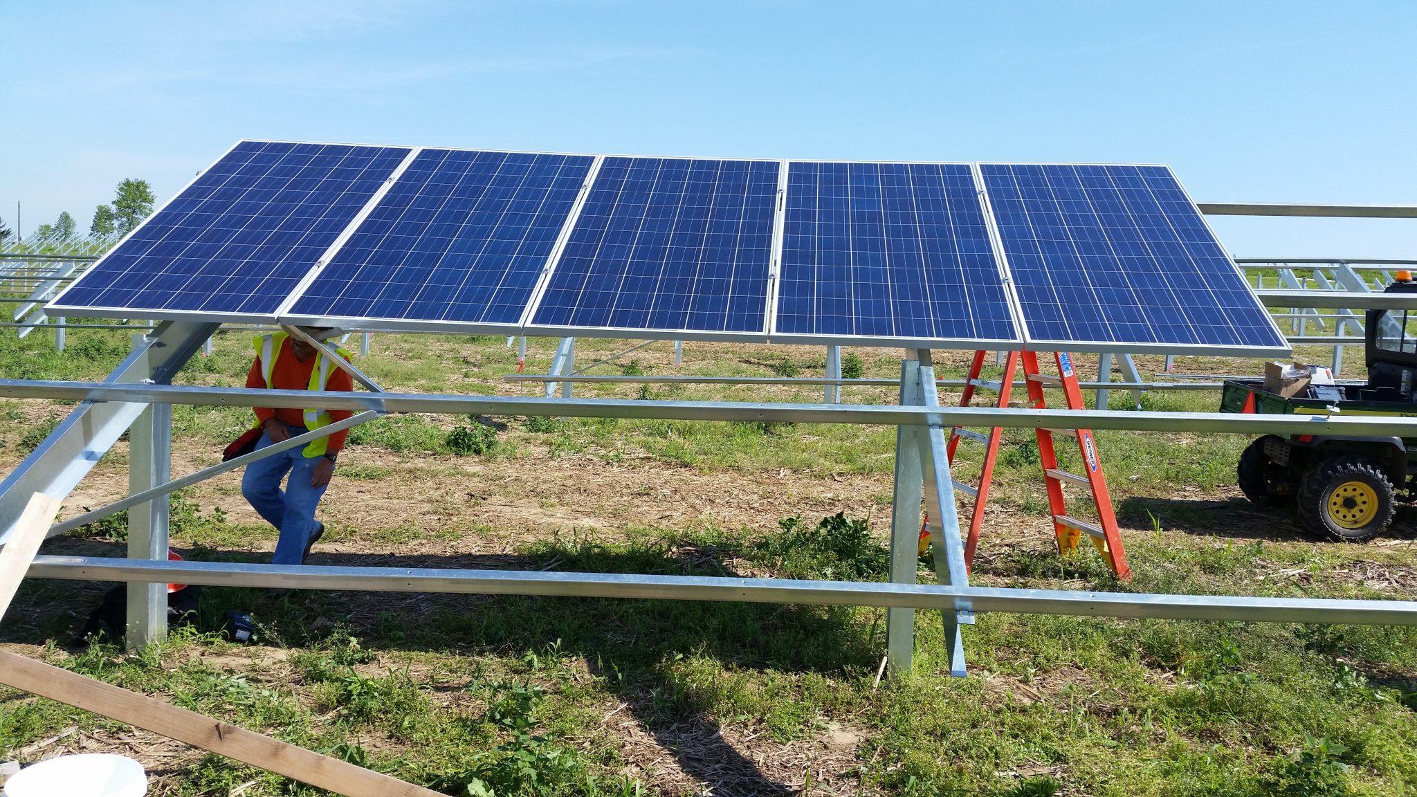 Solar Array Progress 44
