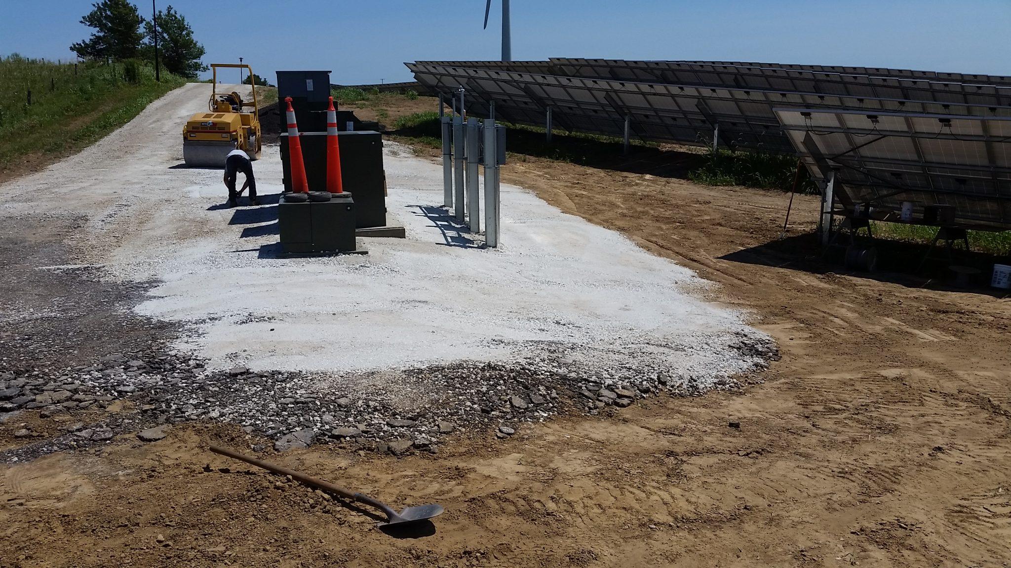 Solar Array Progress 47