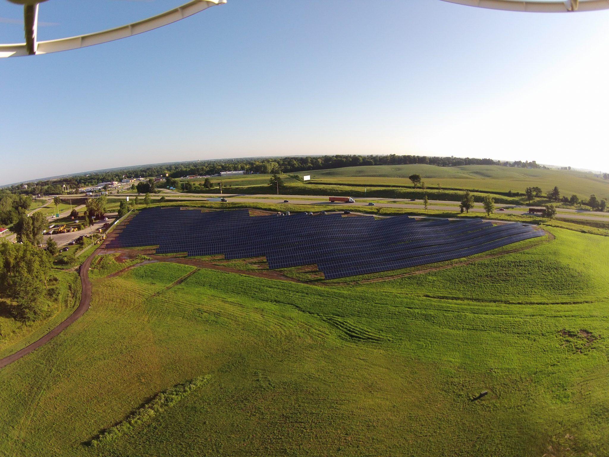 Solar Array Progress 58
