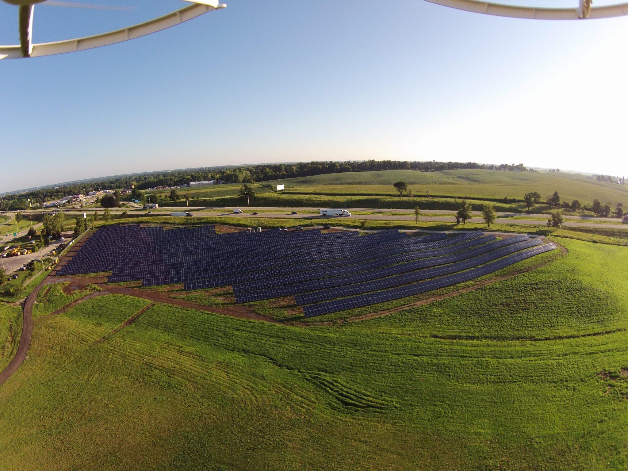 Solar Array Progress 59