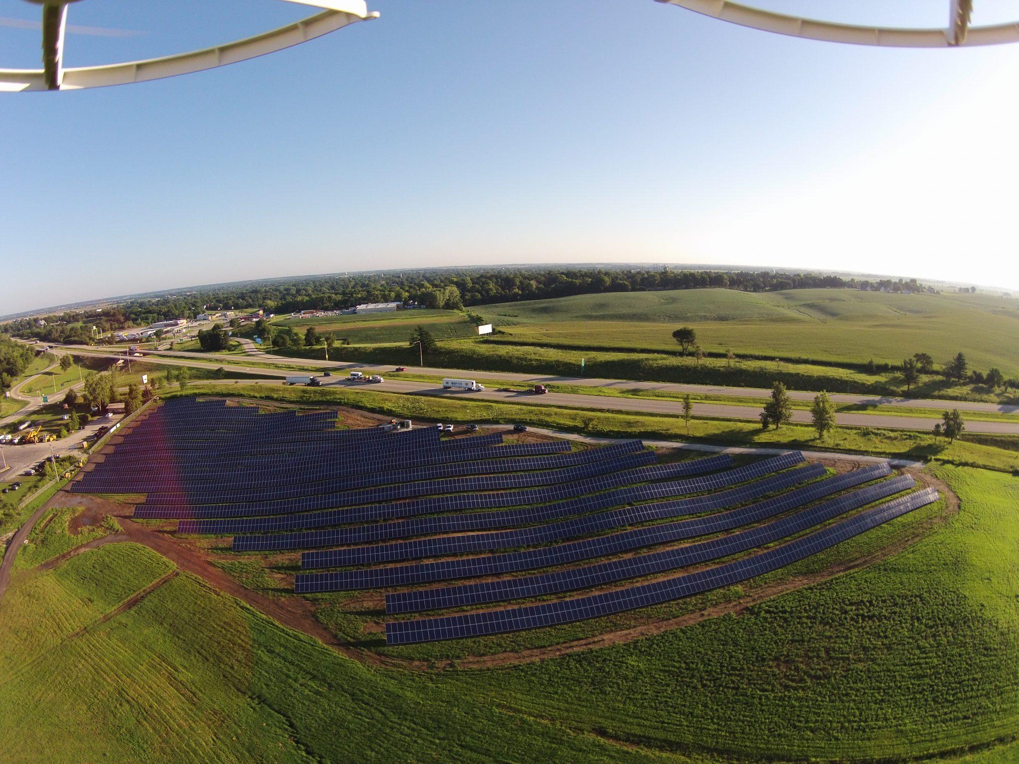 Solar Array Progress 60