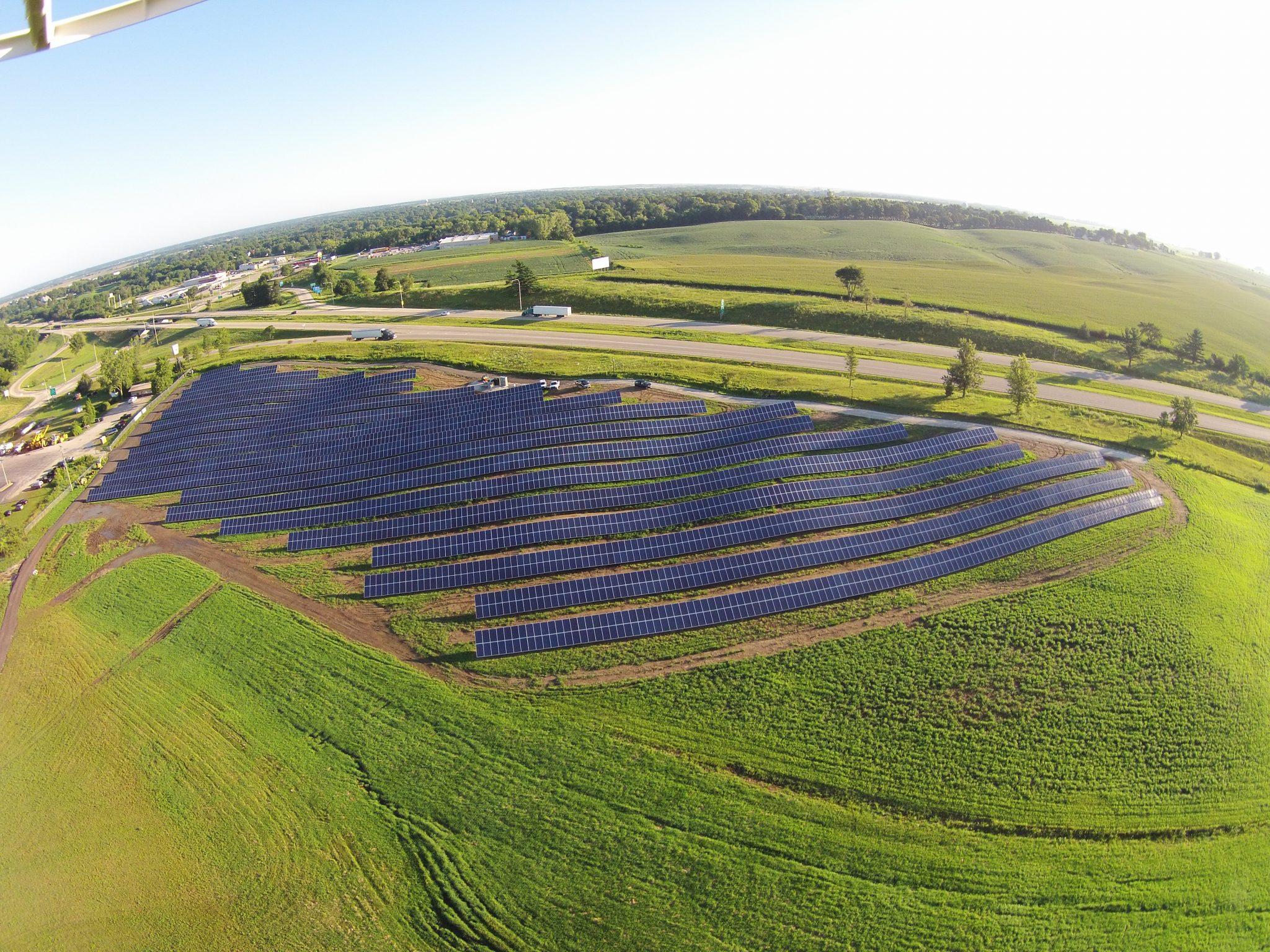 Solar Array Progress 61