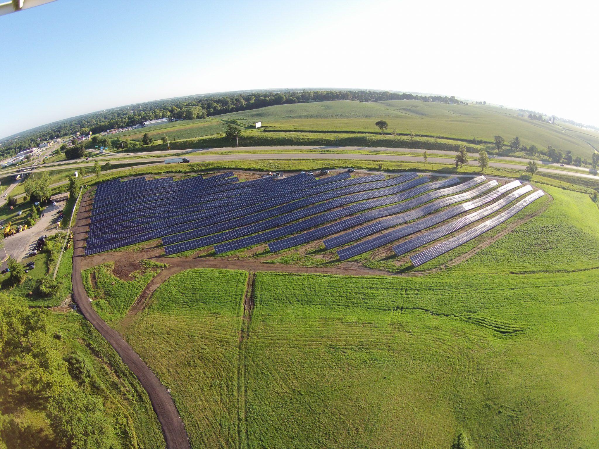 Solar Array Progress 62