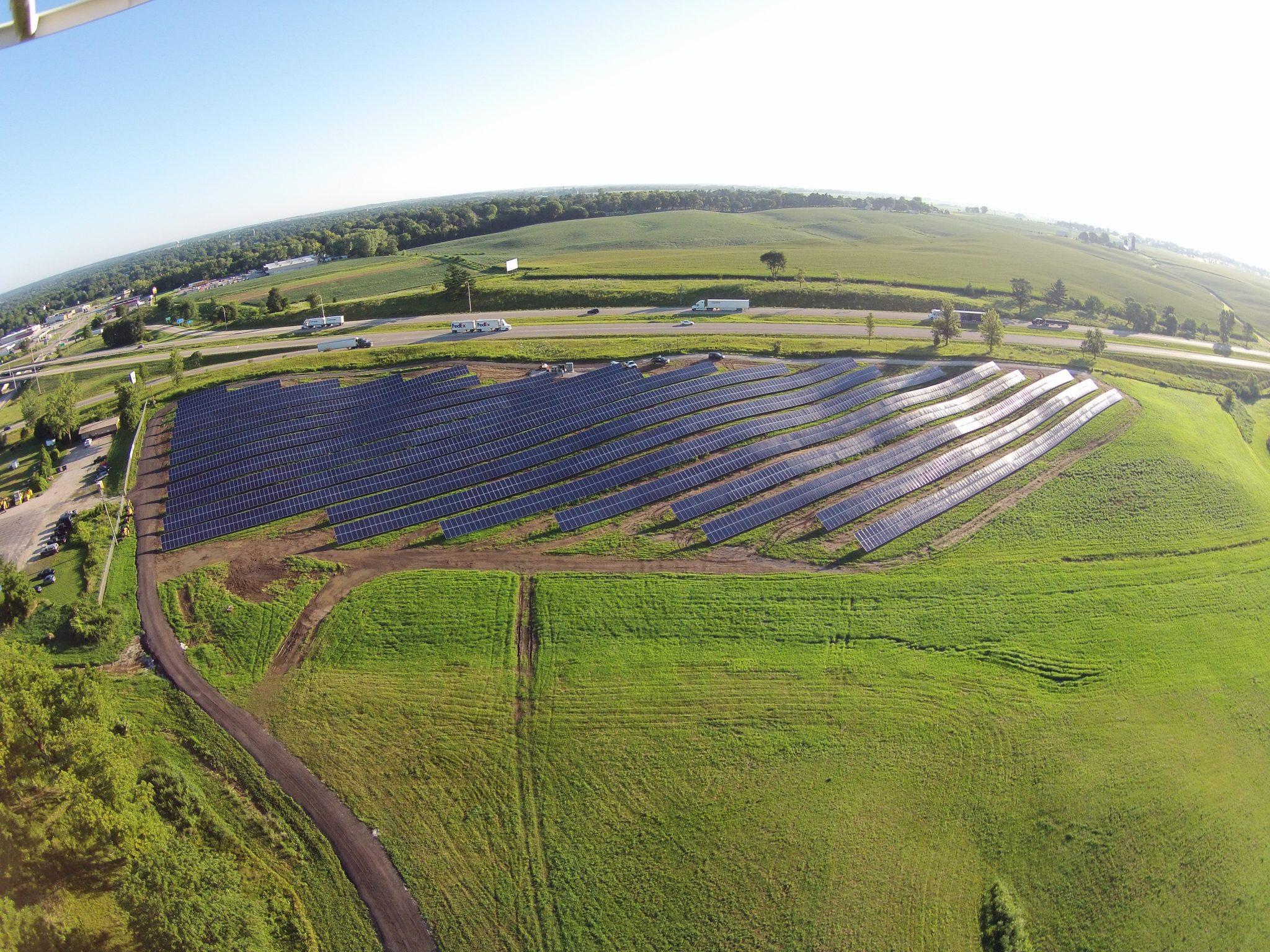 Solar Array Progress 63