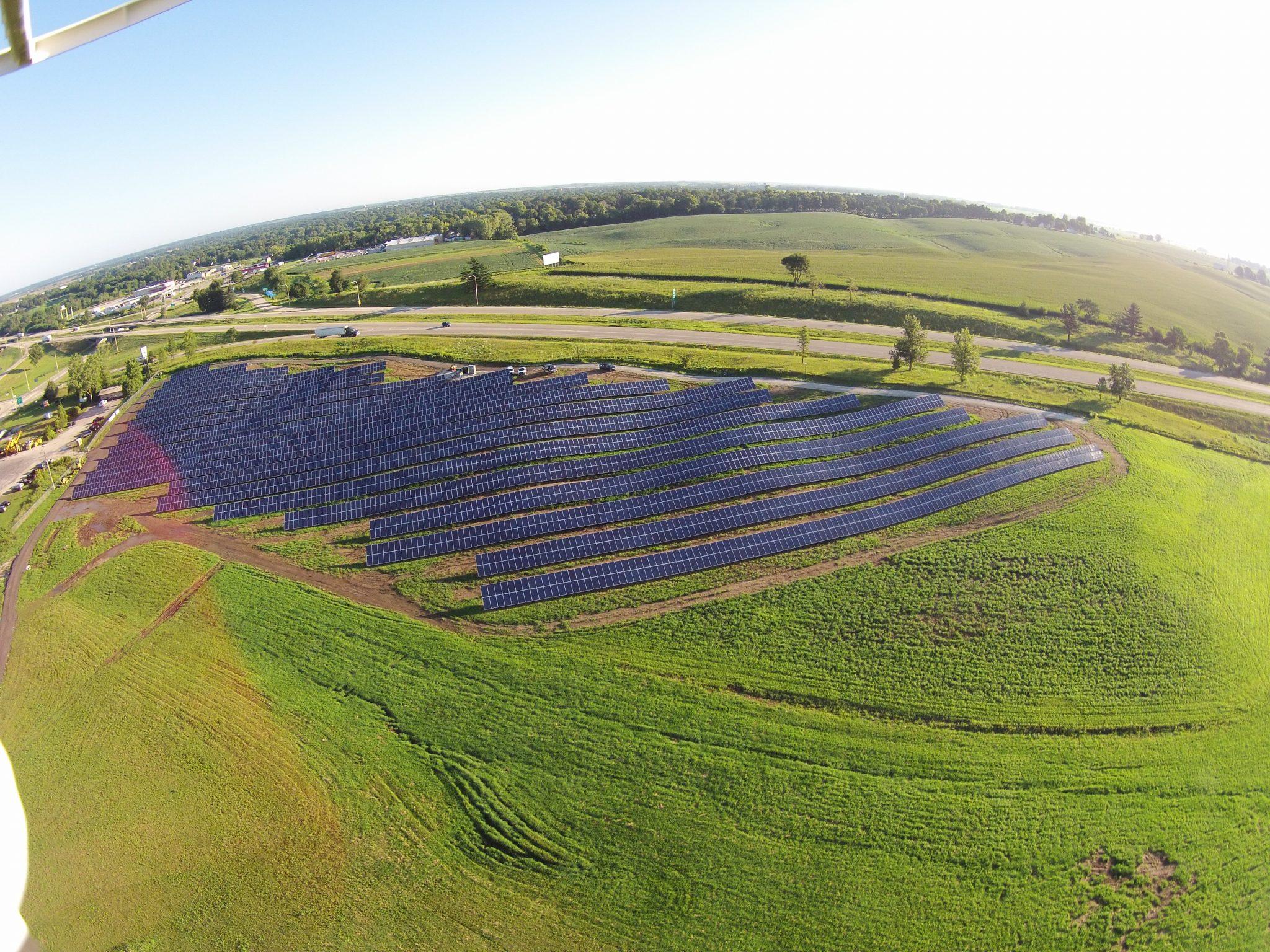 Solar Array Progress 64