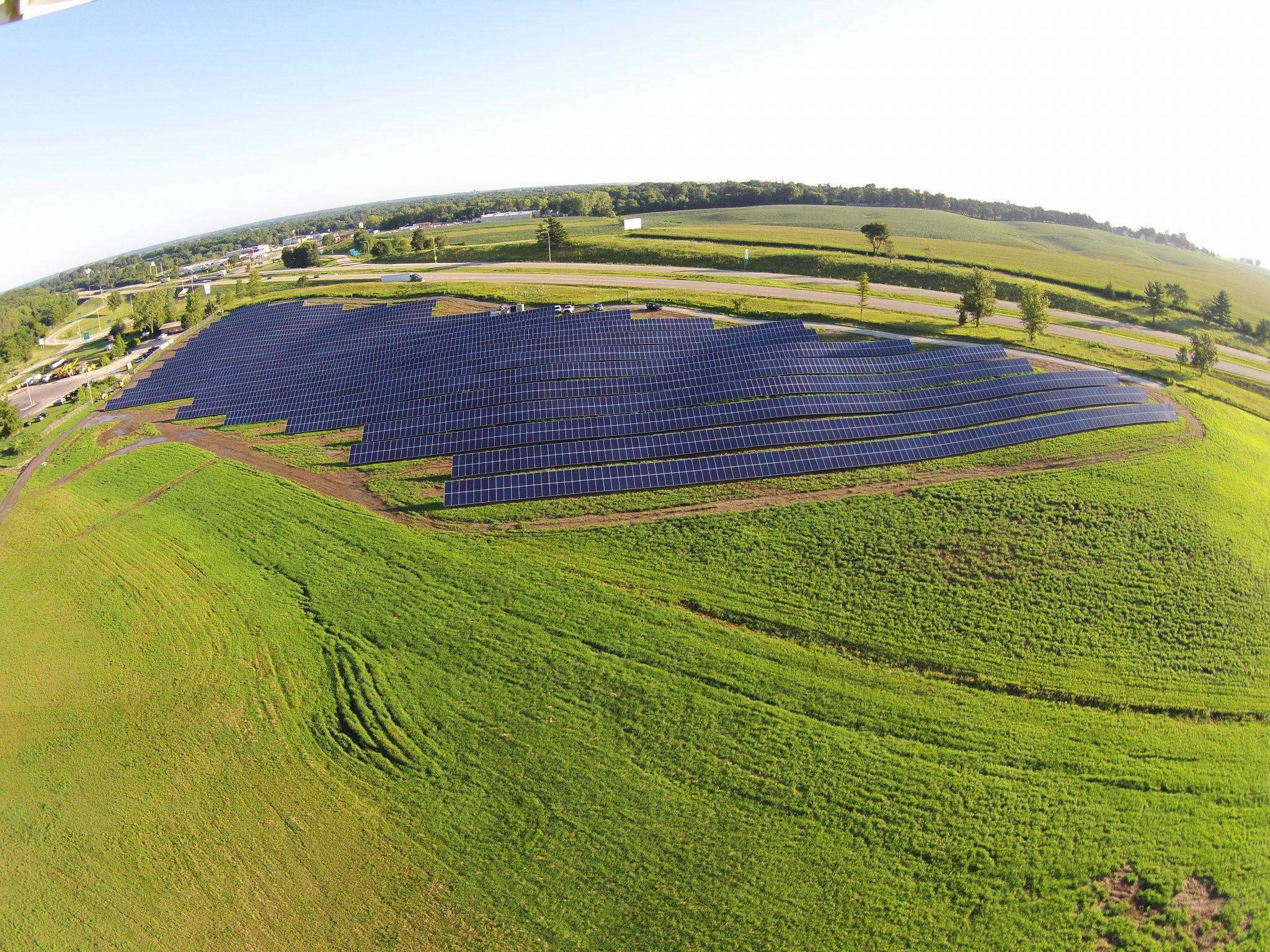 Solar Array Progress 65