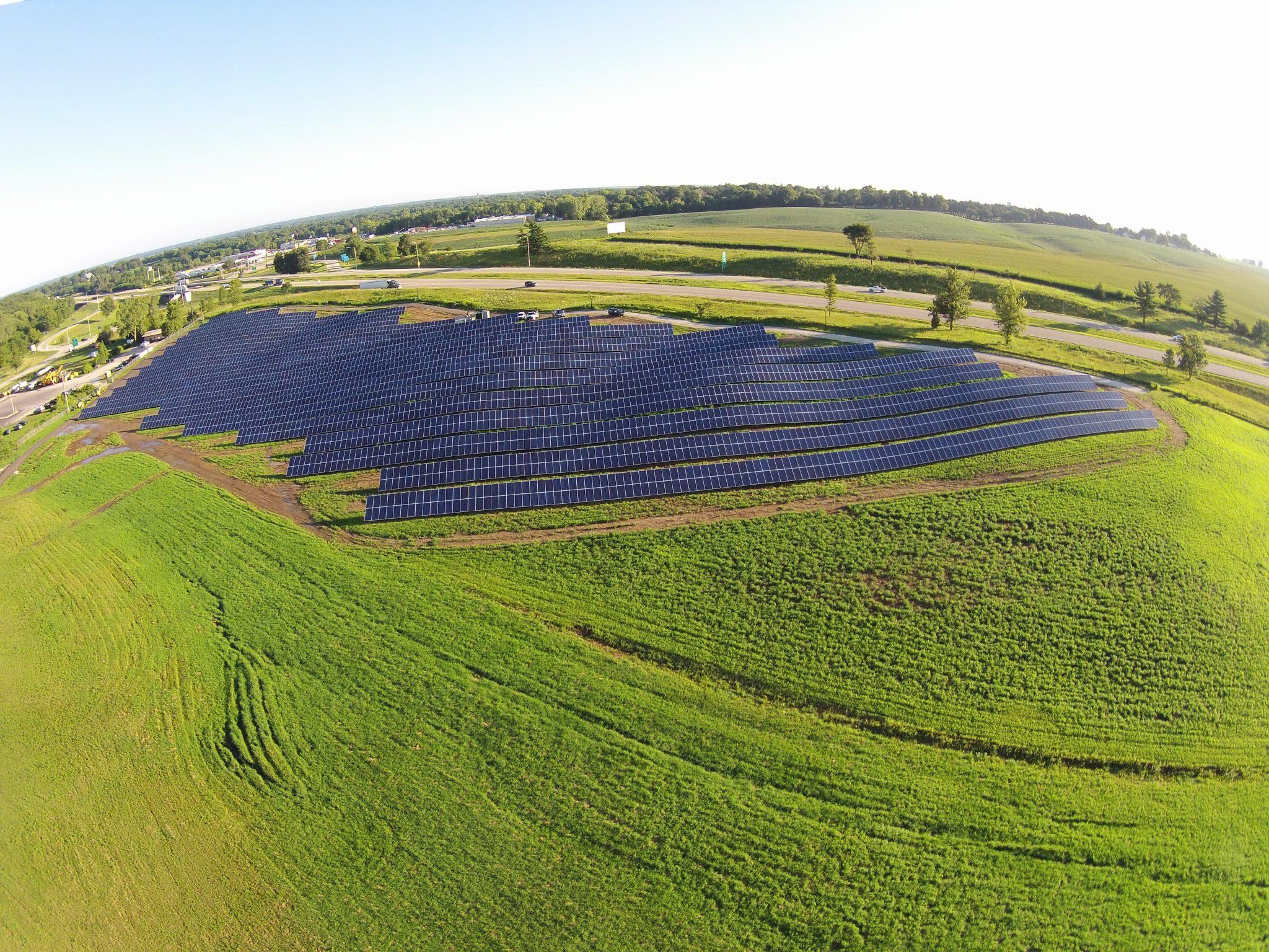 Solar Array Progress 66