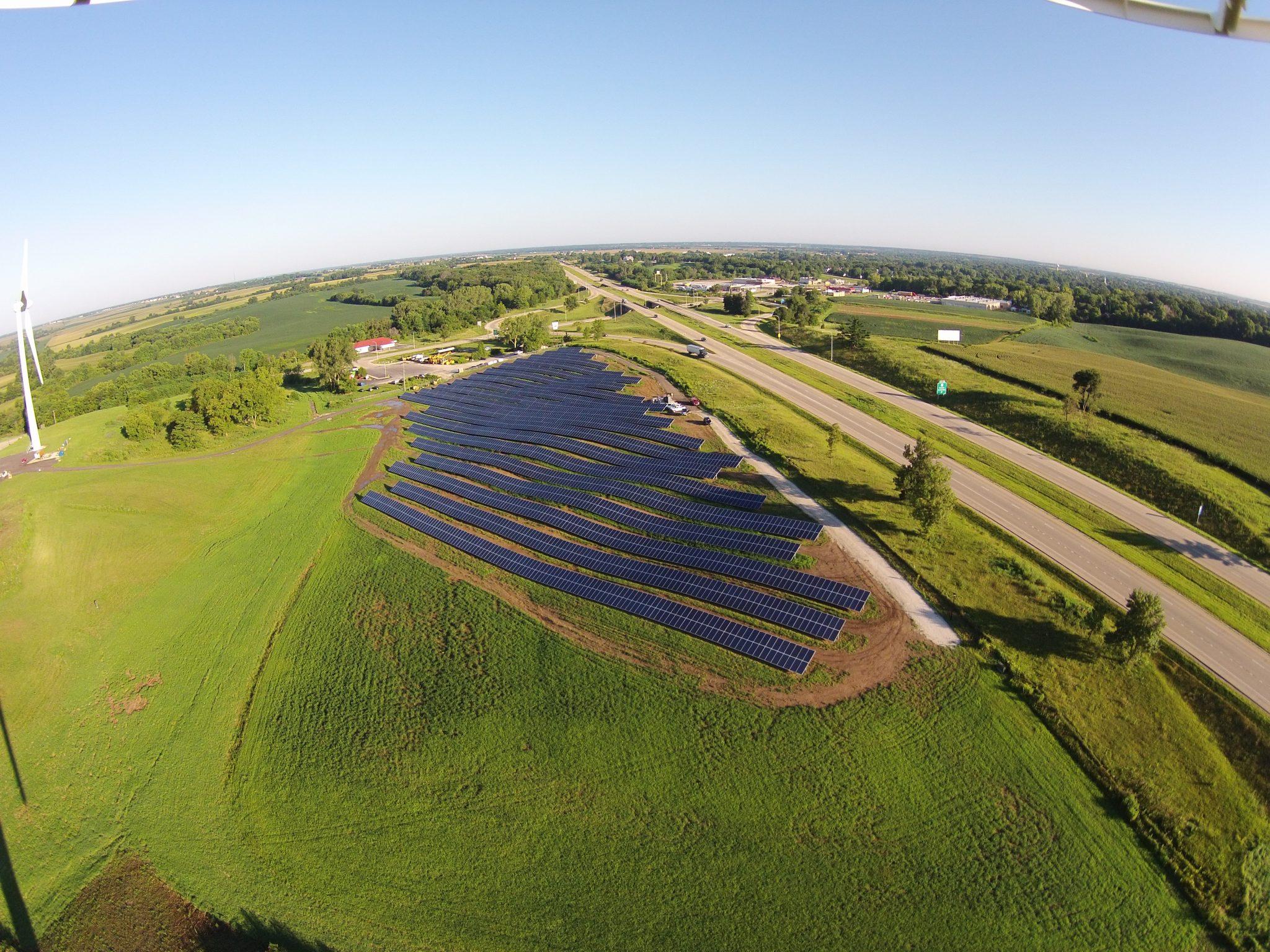 Solar Array Progress 79