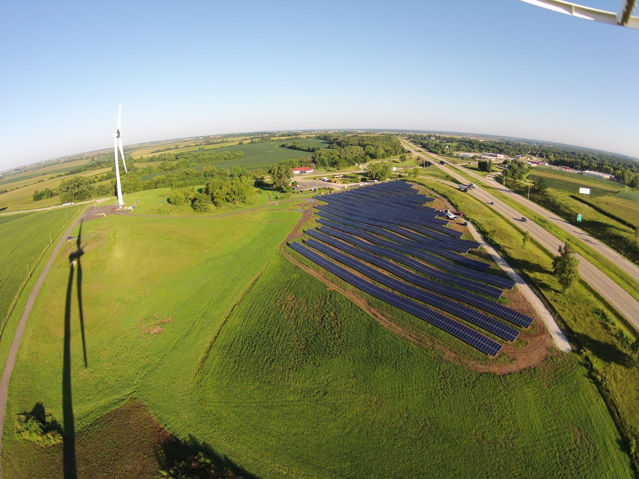 Solar Array Progress 80