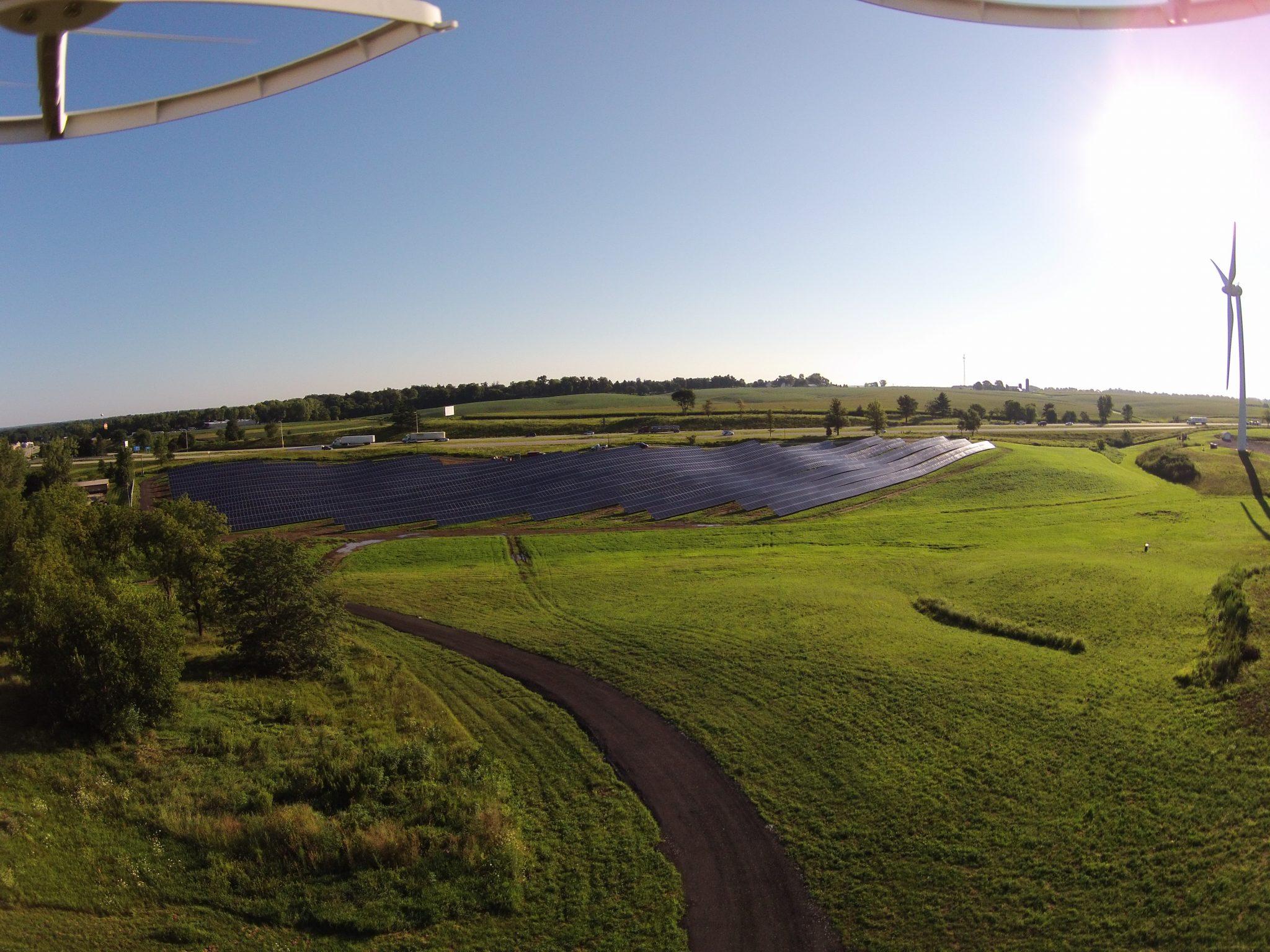 Solar Array Progress 81