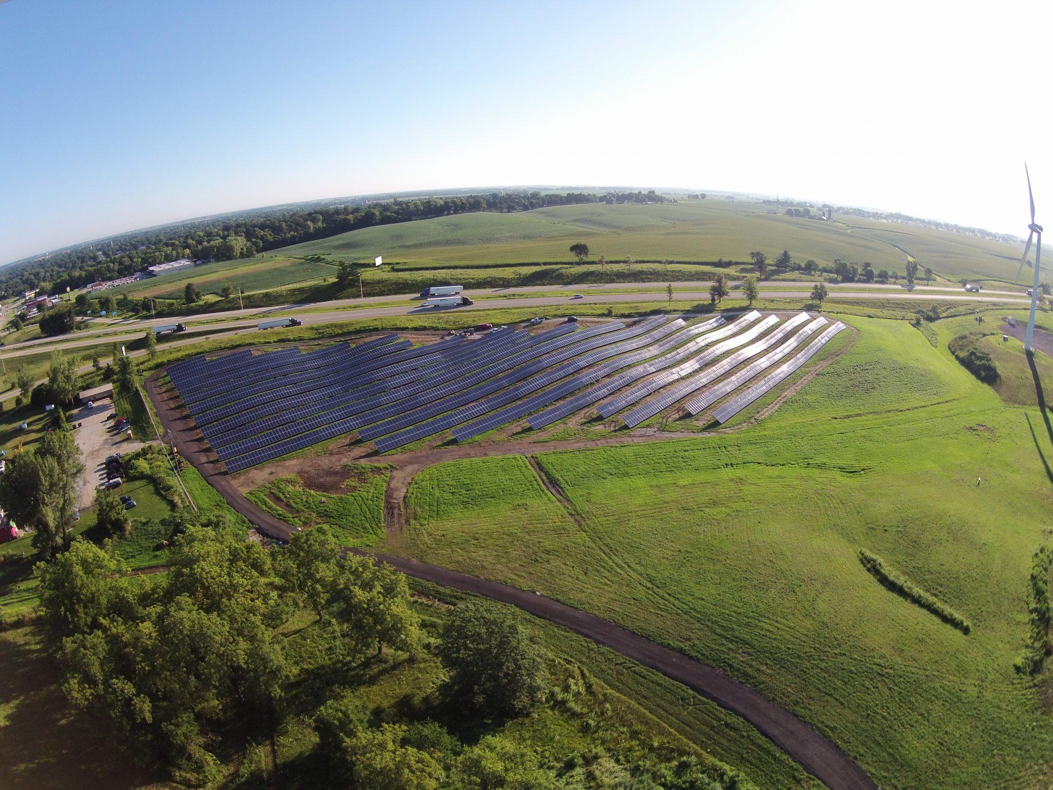 Solar Array Progress 83