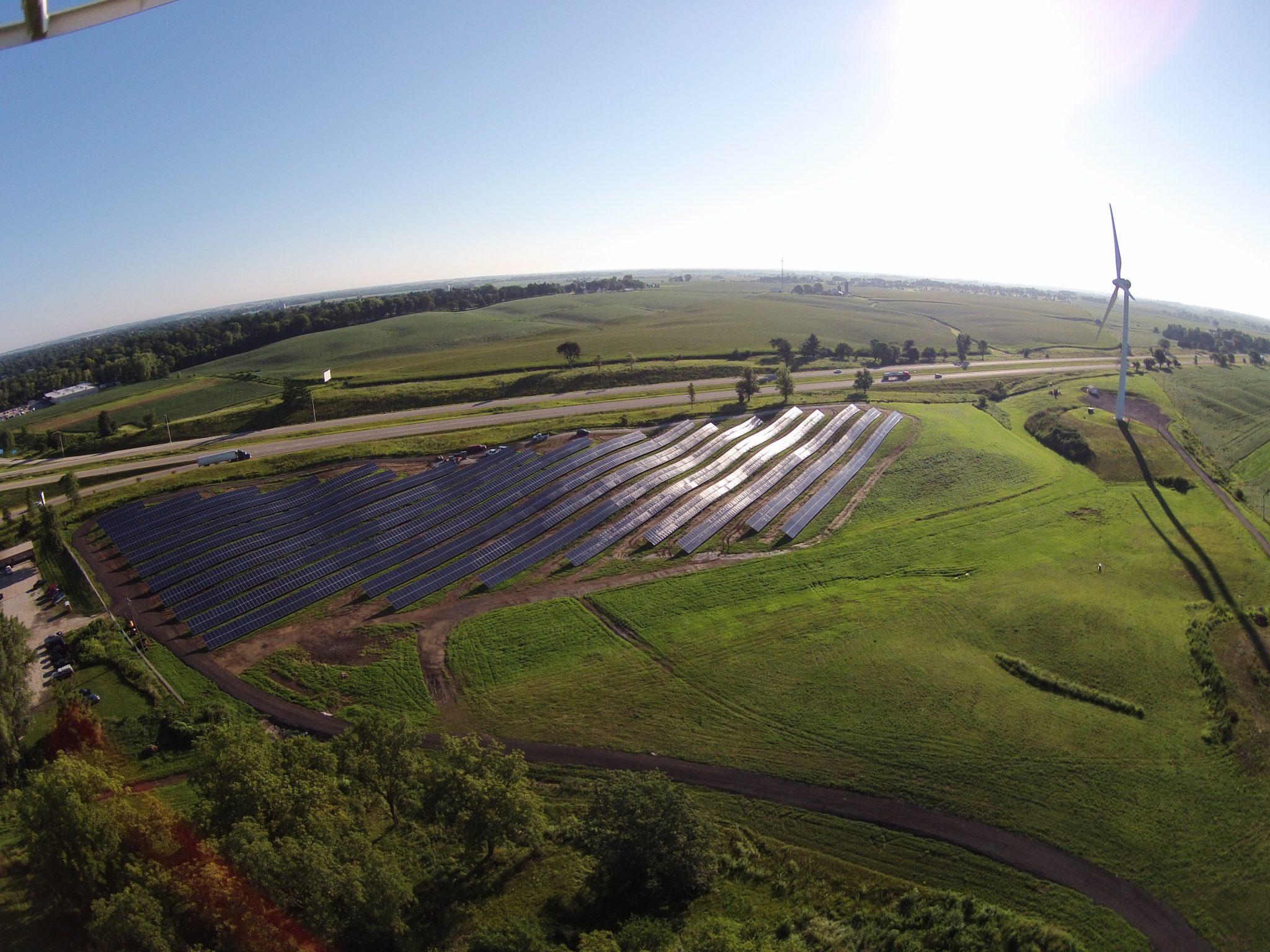 Solar Array Progress 84