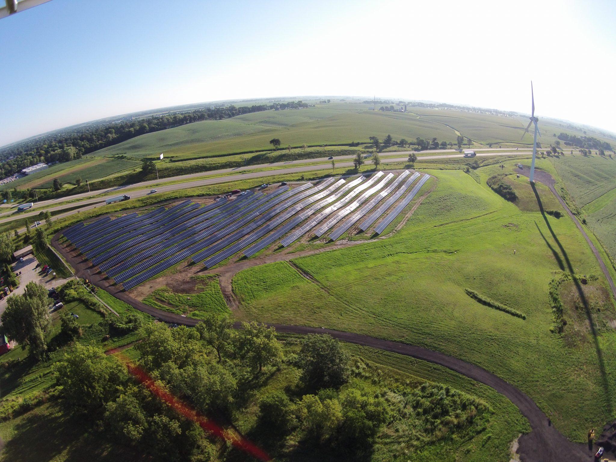 Solar Array Progress 85