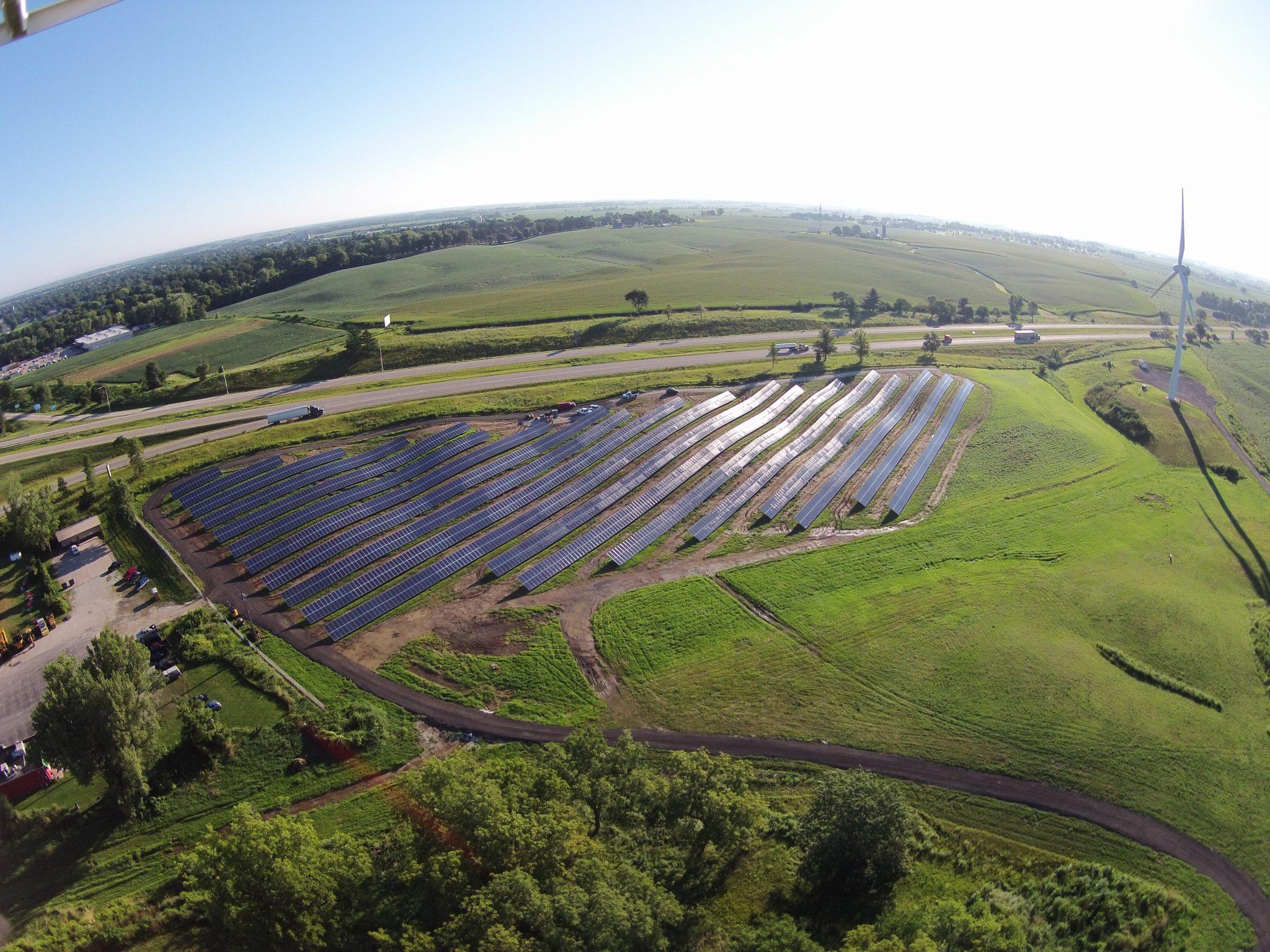 Solar Array Progress 86