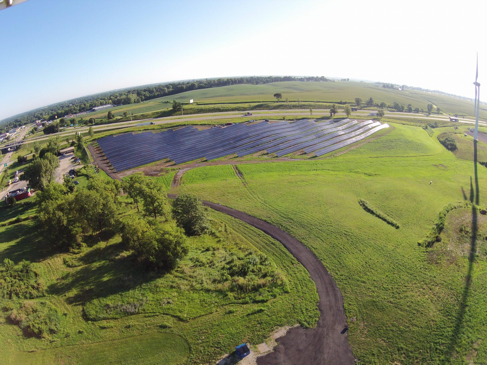 Solar Array Progress 87