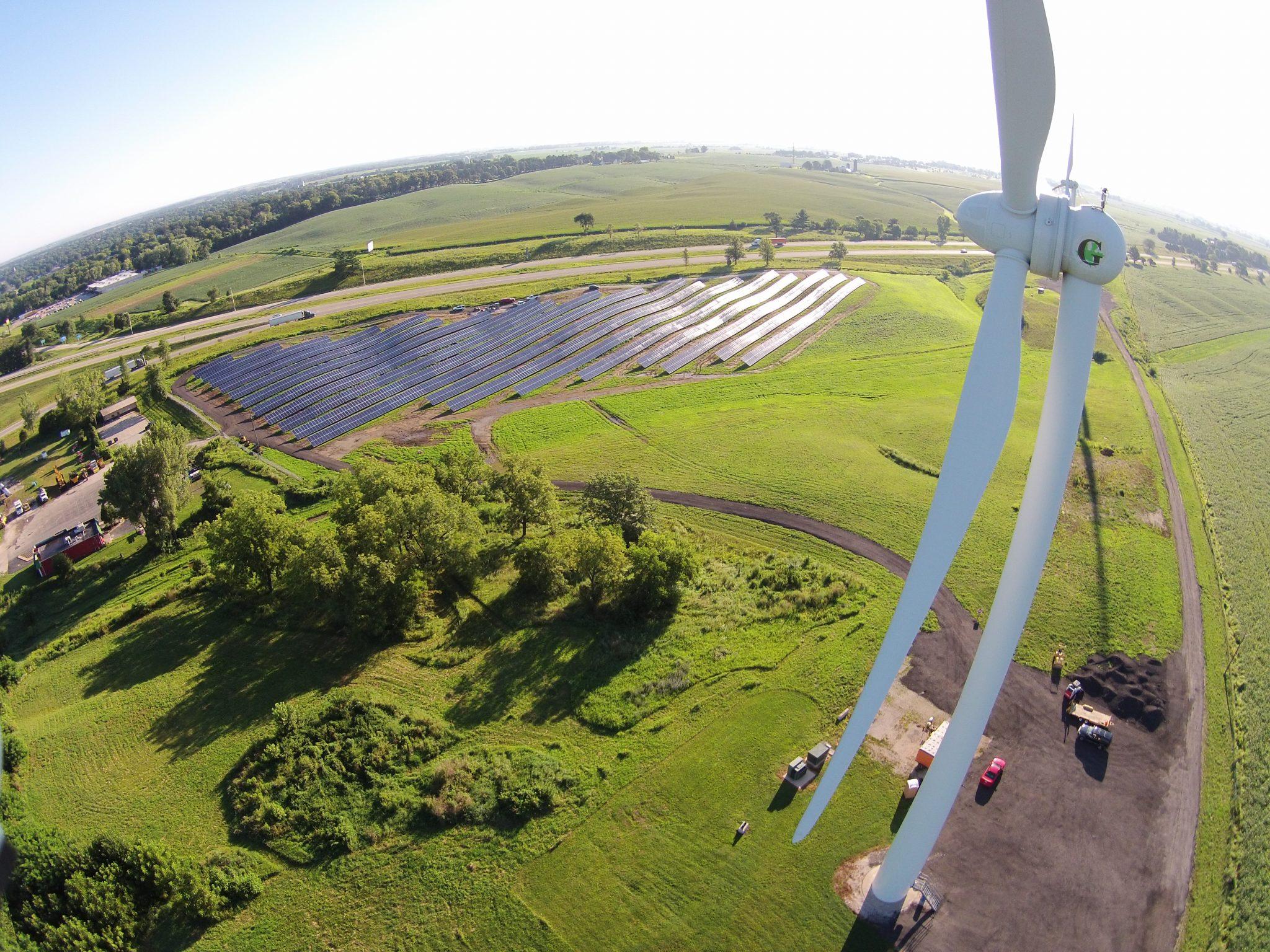 Solar Array Progress 90