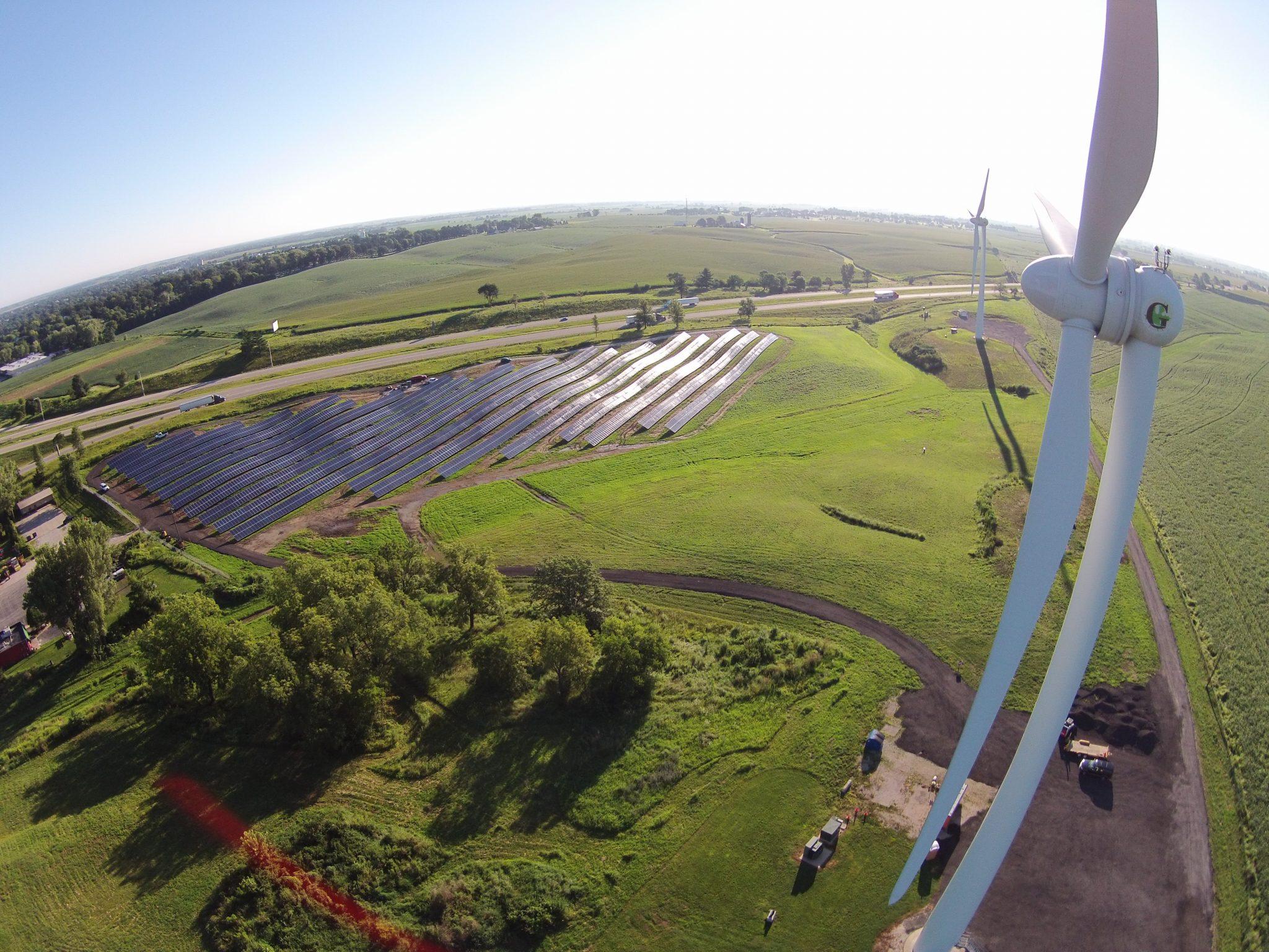 Solar Array Progress 91