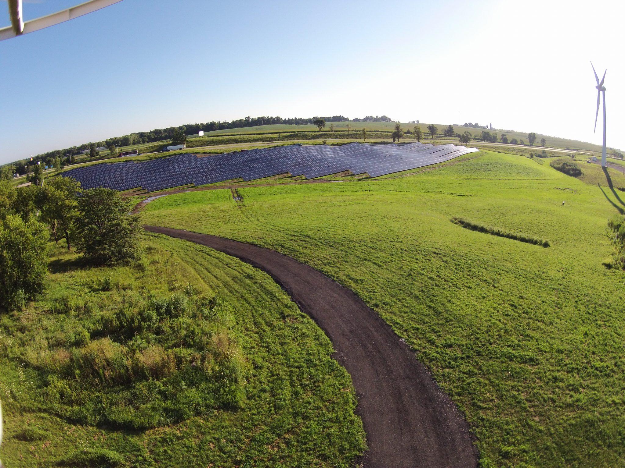 Solar Array Progress 95