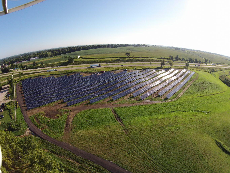 Solar Array Progress 96
