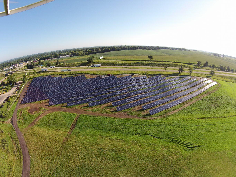Solar Array Progress 97