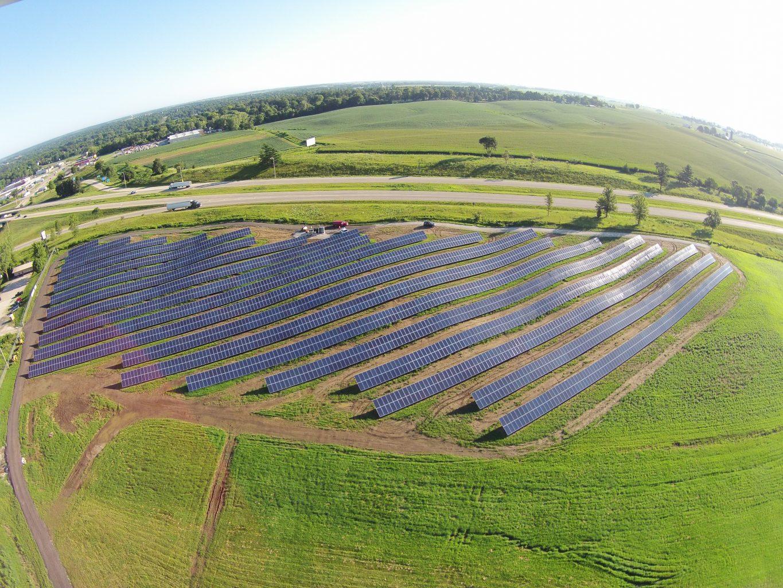 Solar Array Progress 98