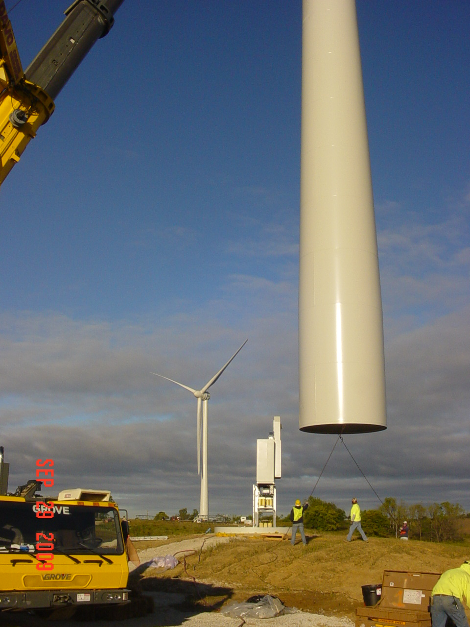 Wind Turbine Progress 58