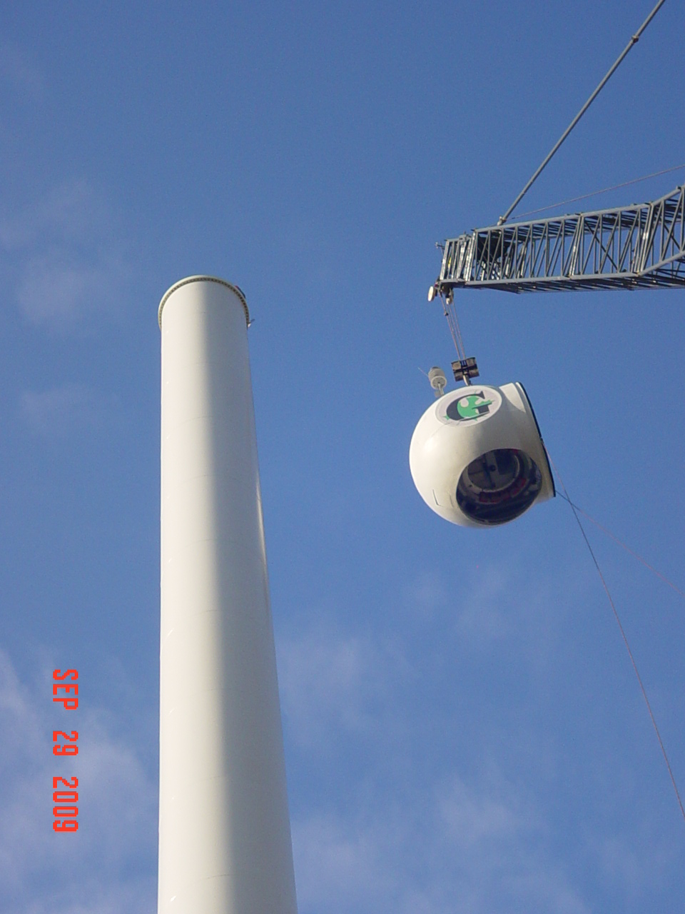 Wind Turbine Progress 66