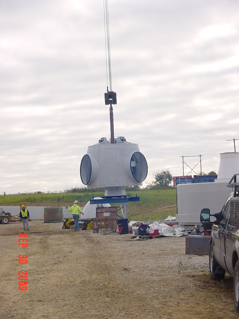 Wind Turbine Progress 70