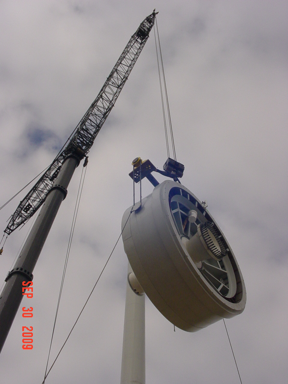 Wind Turbine Progress 74