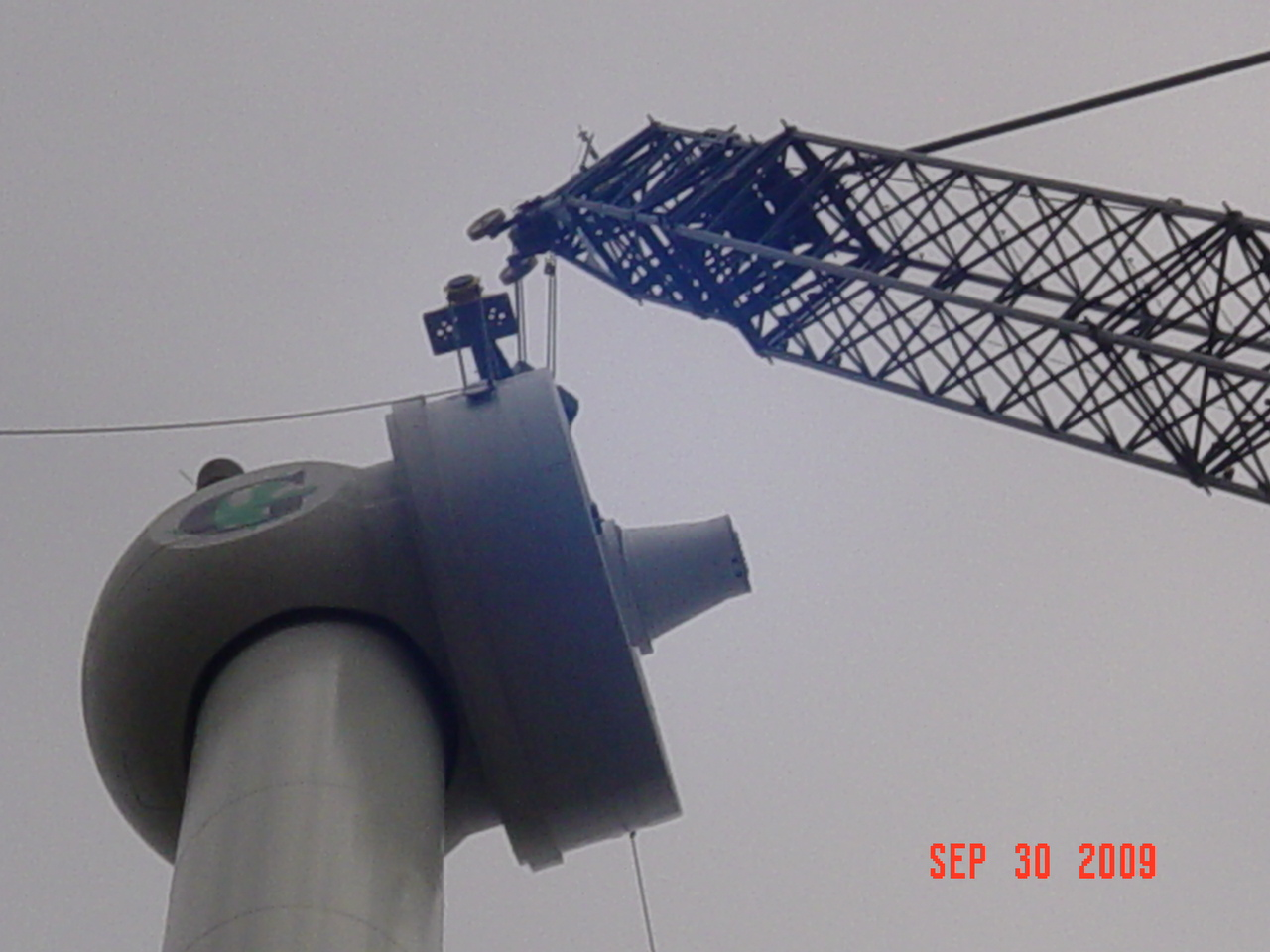 Wind Turbine Progress 77