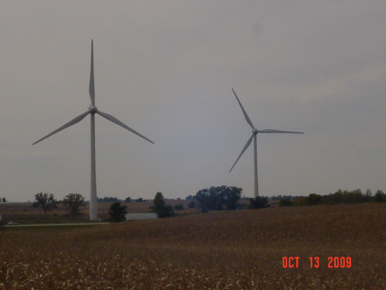 Wind Turbine Progress 85