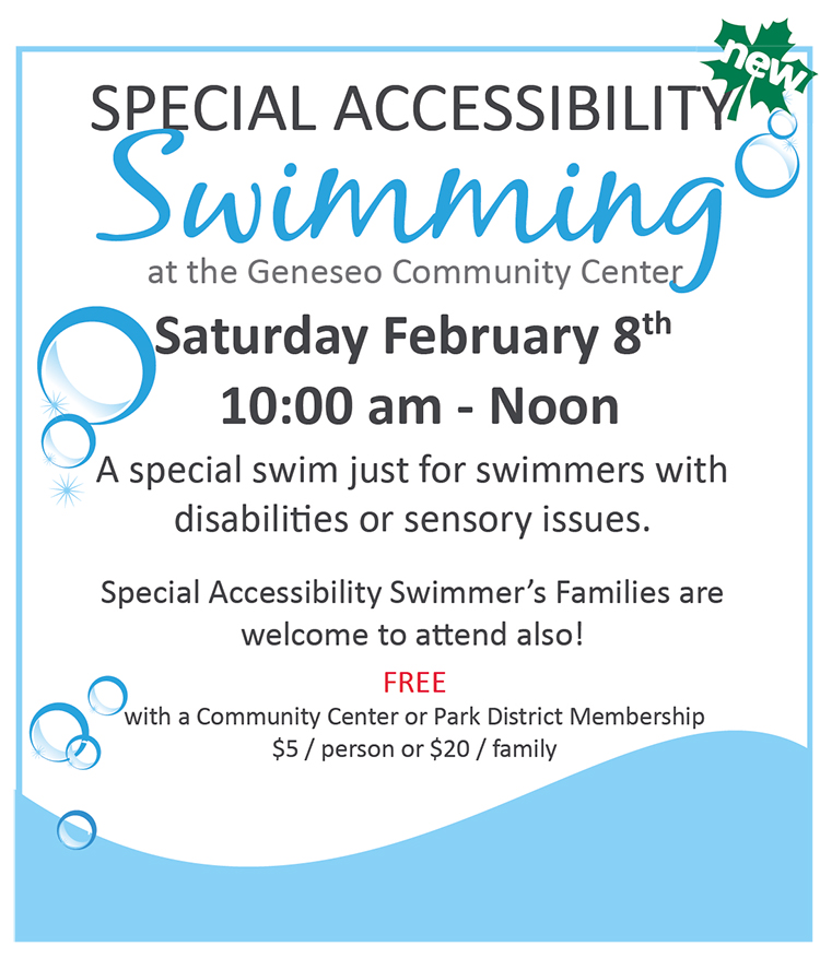 Special Accessibility Swim