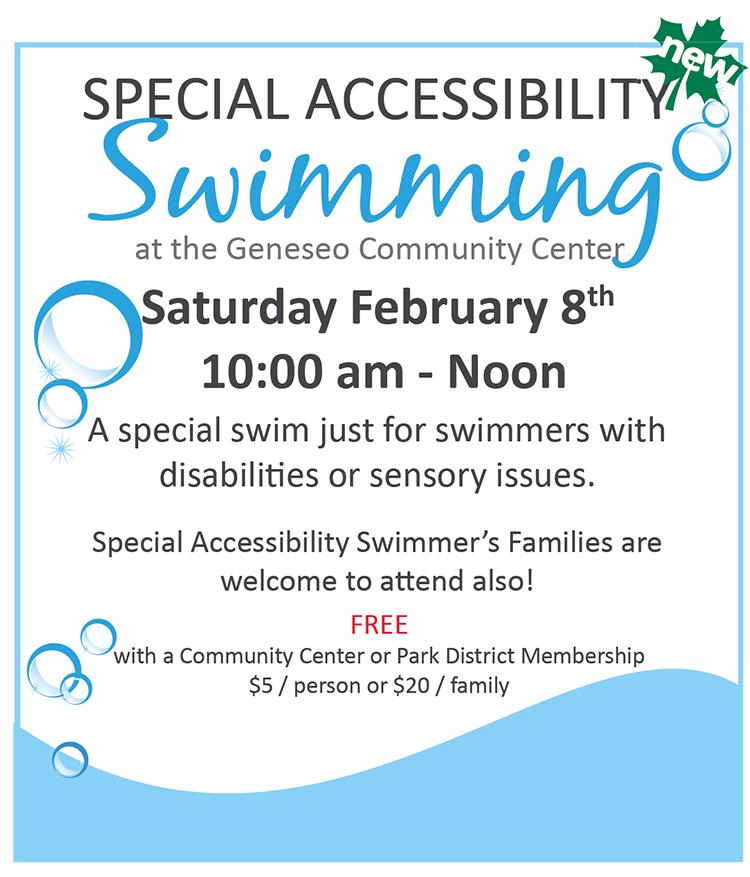 Special Accessibility Swim